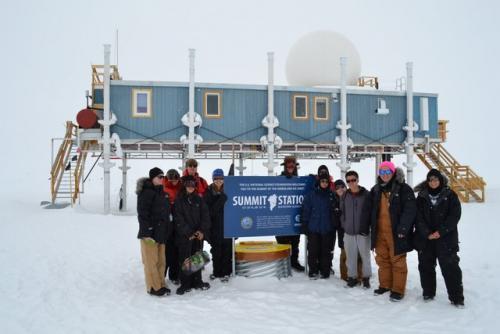 JSEP group arrives at Summit