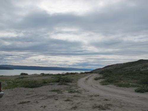 Harbor near Kangerlussuaq