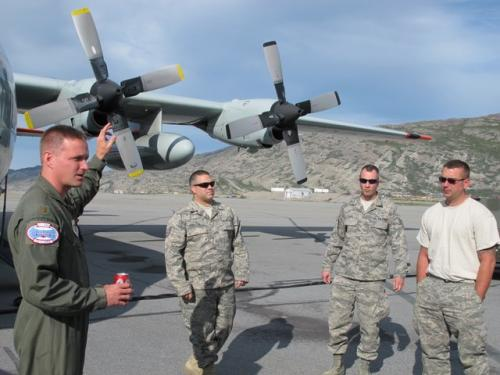 Air National Guard Staff answer our questions