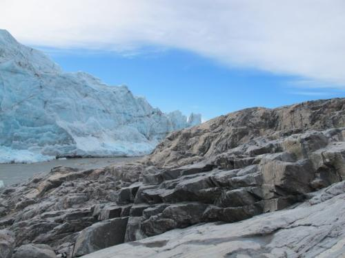 Russell Glacier and awesome metamorphic rocks!
