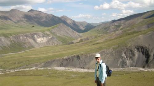 Lauren in the valley