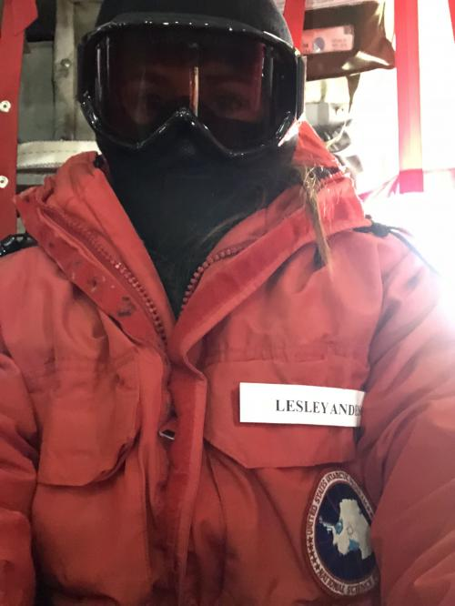 ECW gear on the LC-130