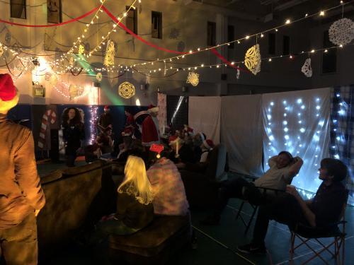 Christmas open mic night