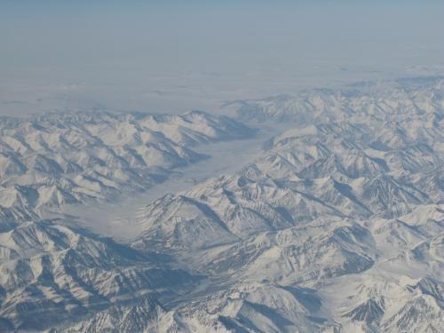 Polar landscape.