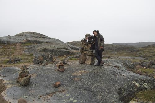 Mark in Iqaluit