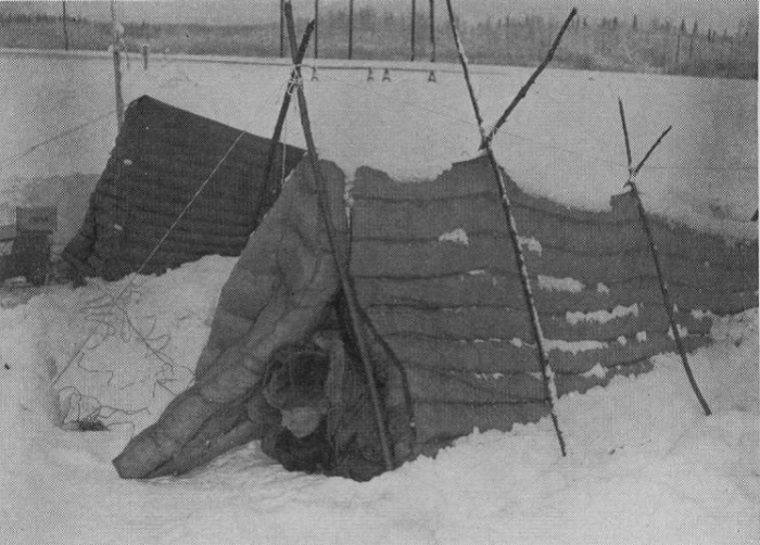 Testing tents in the Arctic cold