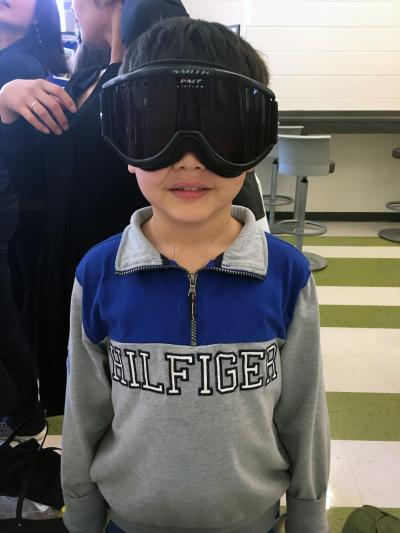 Student goggles