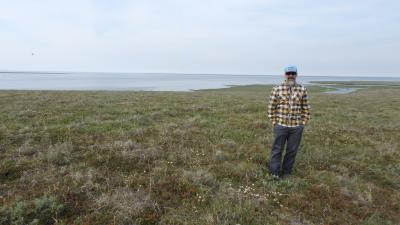 On the tundra with the Kolyma River