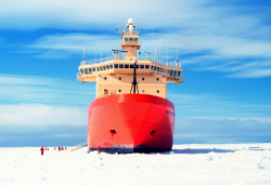 The Nathanial B. Palmer icebreaker