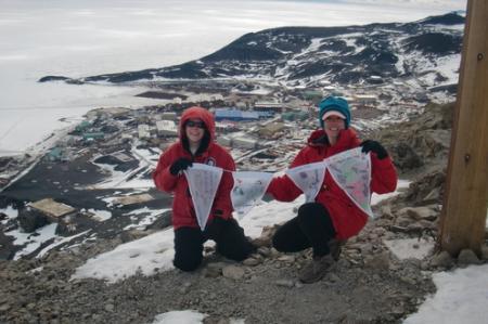 McMurdo flags