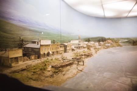Diorama of Yukon River
