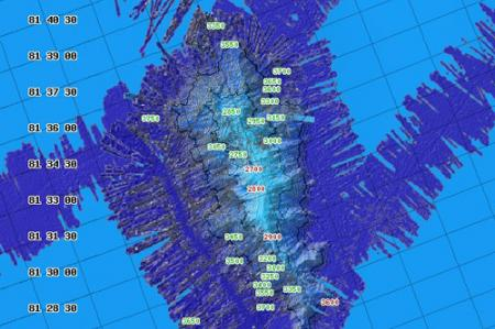 Unnamed Seamount found on 2009 Healy Cruise