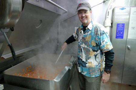 Bill Schmoker Sautéing Veggies
