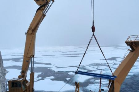 Dismantling Coring Rig Track