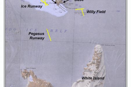 Runways of McMurdo