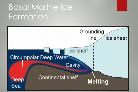 Basal ice formation