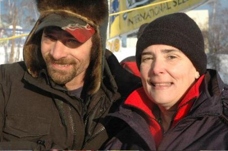 Lance Mackey at the Yukon Quest 2009