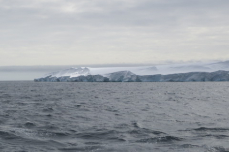 A small section of the Totten Glacier, East Antarctica.