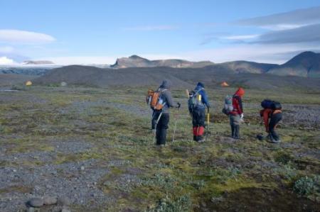 leaving base camp