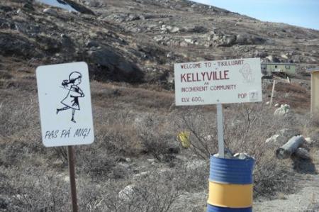 Kellyville sign