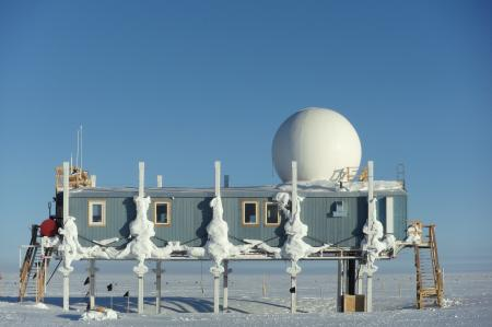The Big House at Summit Station, Greenland