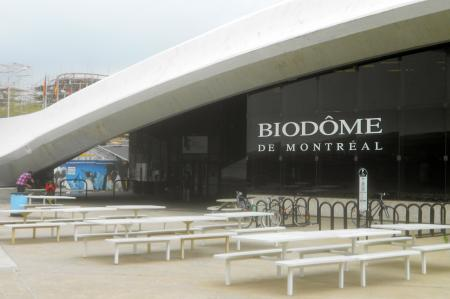 The Biodome in Montreal