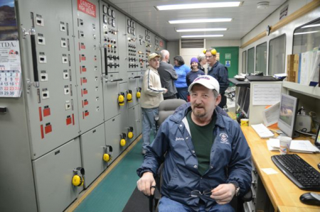 Guided visit to the Palmer's engine room
