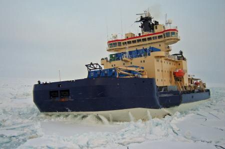 The Swedish Icebreaker Oden. Picture by Swedish Polar Research Secretariat