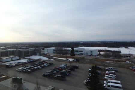IARC parking lot