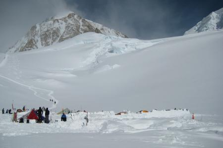 Tent City at 11,000ft