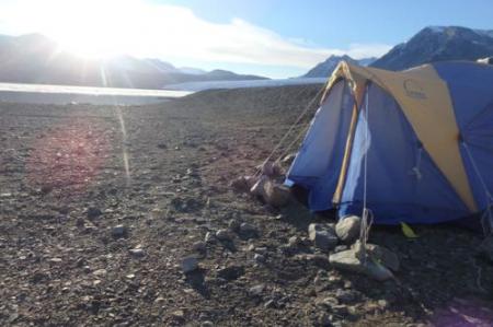 Tent at Lake Fryxell