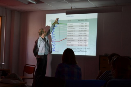 JP Steffensen explains ice cores and Earth's climate history