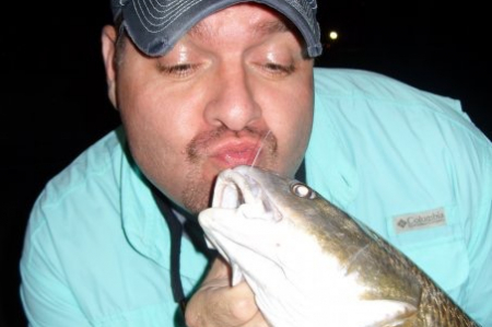 Ok, not exactly a fun fact, but definitely a fun photo-op for a research scientist who is studying fish!  Dr. Mike Lowe and fish friend.  Photo courtesy of Dr. Mike Lowe.