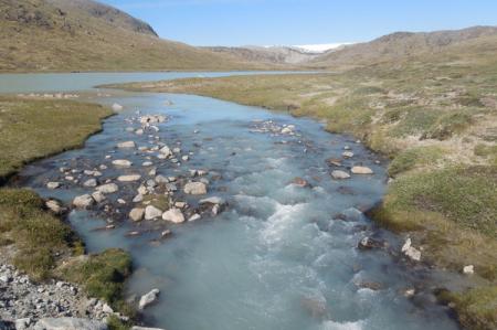 Stream near Point 660
