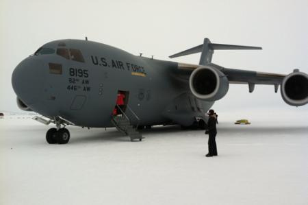 C-17 sea ice runway