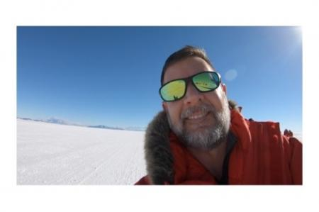 Mike Penn in Antarctica 2018