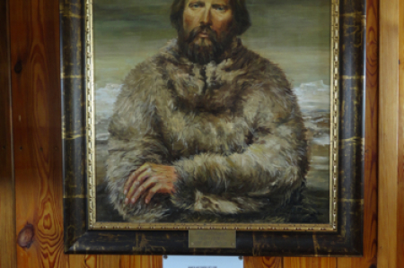 Polish explorer Arctowski