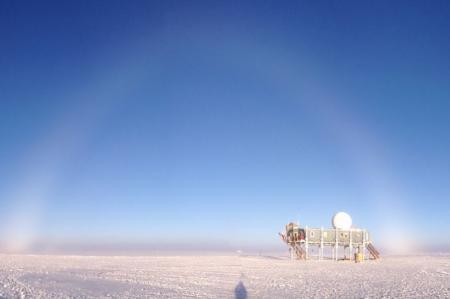 Fog Bow at Summit Station Greenland July 2012