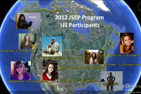 2012 JSEP program participants