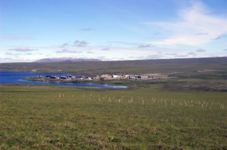 View of Toolik Field Station from PolarTREC archives