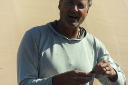 Allen O'Bannon, Arctic Field Training Instructor, at Toolik Field Station June 2