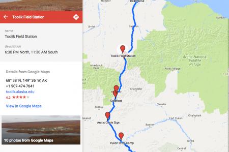 Dalton Express Route