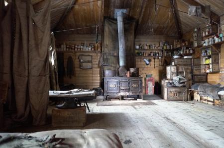 Shackleton's Hut interior 1