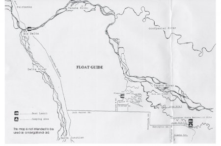 Delta Clearwater Map