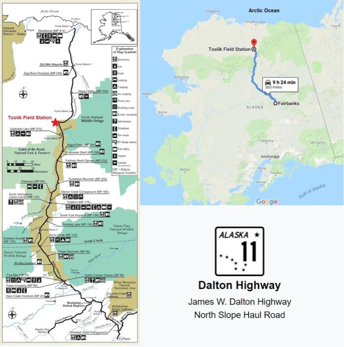4 June 2019 The Dalton Highway | PolarTREC Google Maps Alaska Highway on driving the alcan highway, 1 4 mile highway, peace river canada alcan highway,
