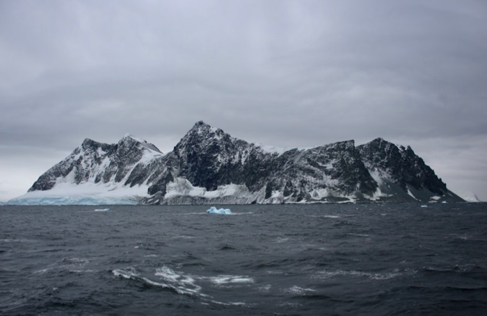 Views along the Antarctic Peninsula