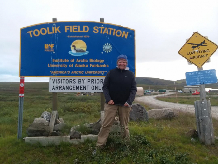 Last night at Toolik Field Station