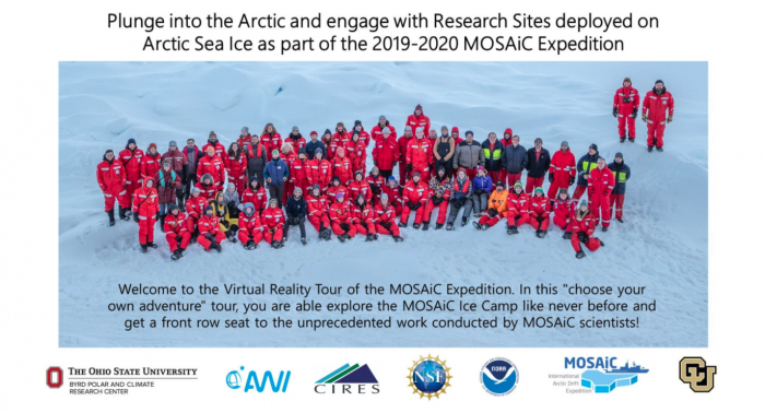 Welcome to the Virtual Reality Tour of the MOSAiC Expedition