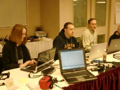 PolarTREC Teachers hard at work