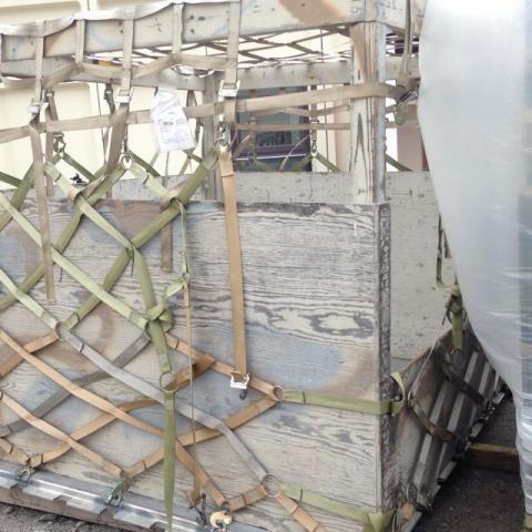 Cargo for Air National Guard Flight